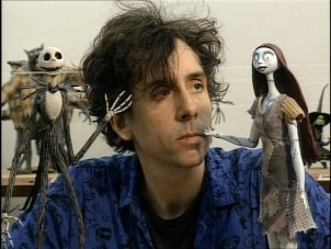 A-young-Tim-Burton
